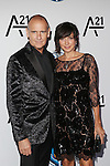 Nigel Curtis and Monica Mitro Attends the Unitas Gala <br /> Against Sex Trafficking Held at Capitale