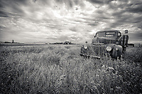 Flatbed Ford Truck - Montana - BW - Higher POV)