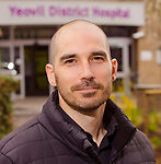 Yeovil Hospital: Simon Blackburn portraits March 2017