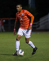 The number 24 ranked Furman Paladins took on the number 20 ranked Clemson Tigers in an inter-conference game at Clemson's Riggs Field.  Furman defeated Clemson 2-1.  Amadou Dia (11)