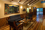 Milne Bay, Papua New Guinea; Tawali Resort, interior views of lobby , Copyright © Matthew Meier, matthewmeierphoto.com