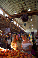 Vancouver, BC, Canada, August 2006. The Granville Island Market. Squeezed in between the Rocky Mountains and the Pacific Ocean, Vancouver has a special feel. Photo by Frits Meyst/Adventure4ever.com