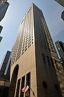Sony Building, designed by Phlilp Johnson & John Burgee, Midtown, Madison Ave, New York, New York