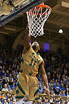 16 January 2016: Notre Dame's Demetrius Jackson. The Duke University Blue Devils hosted the University of Notre Dame Fighting Irish at Cameron Indoor Stadium in Durham, North Carolina in a 2015-16 NCAA Division I Men's Basketball game. Notre Dame won the game 95-91.