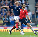 Darren Fletcher and Jon Inge Hoiland