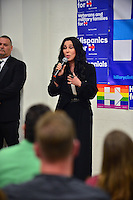 MIAMI, FL - NOVEMBER 07: Cher campaigns for Hillary Clinton on November 7, 2016 in Miami, Florida. Credit: MPI10 / MediaPunch
