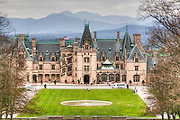 Biltmore House from Diana statue