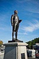 Statue of Captain James Cook, Victoria, British Columbia, Canada