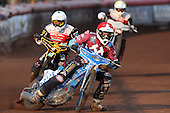 Kauko Nieminen of Lakeside Hammers - Lakeside Hammers vs Swindon Robins at the Arena Essex Raceway, Pufleet - 18/06/12 - MANDATORY CREDIT: Rob Newell/TGSPHOTO - Self billing applies where appropriate - 0845 094 6026 - contact@tgsphoto.co.uk - NO UNPAID USE..