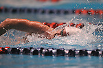 24 MAR 2012: Chad La Tourette of Stanford University competes in the 1650 yard freestyle race during the Division I Men's Swimming and Diving Championship held at the Weyerhaeuser King County Aquatic Center in Seattle, WA.  La Tourette sawm 14:24.35 to finish second in the event but set a American record in the process.  Rod Mar/ NCAA Photos