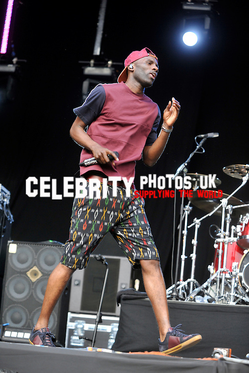 Wretch 32 at the Fusion Festival, Cofton Park, Birmingham 31 aug 2013  at the Fusion Festival, Cofton Park, Birmingham 1st september2013, Photo by Brian jordan /Retna Pictures
