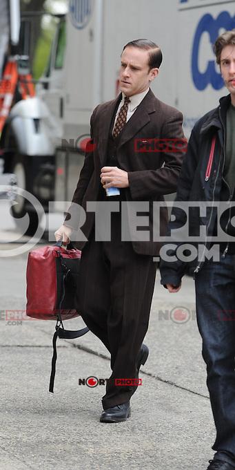 April 11 , 2012:En eL  Set de Kill Your Darlings ,Daniel Radcliffe ,New York City ,New York.<br /> <br /> (*Foto:&copy;MPI15/Mediapunchinc/NortePhoto.com*)<br /> **SOLO*VENTA*EN*MEXiCO**