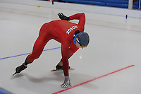 SCHAATSEN: LEEUWARDEN: 21-06-2016, ELFSTEDENHAL, Training Zomerijs, Espen Aarnes Hvammen (NOR), ©foto Martin de Jong