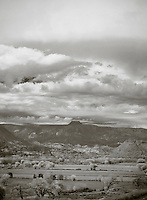 View of Cerro Pedernal, Abiquiu, NM