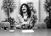 Frank Zappa performing in 1973 Credit:  Ian Dickson / MediaPunch