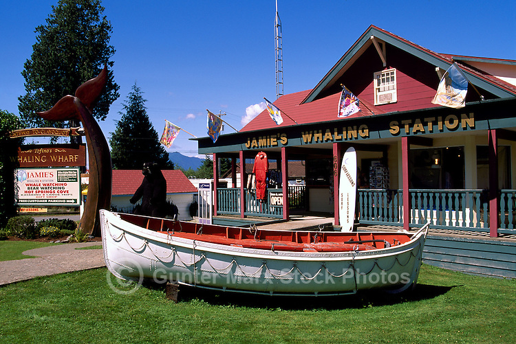 Whale Watching Tours Station in Tofino, on Vancouver Island, British Columbia, Canada