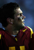 11 September 2004:  USC Quarterback Matt Leinart (11) during the USC Trojans win 49-0 over Colorado State Rams at the LA Coliseum, CA. NCAA football Pac-10 college football.