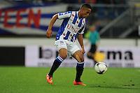 VOETBAL: HEERENVEEN: Abe Lenstra stadion 23-08-2014, SC Heerenveen - Excelsior uitslag 2 - 0, Pele van Anholt, ©foto Martin de Jong