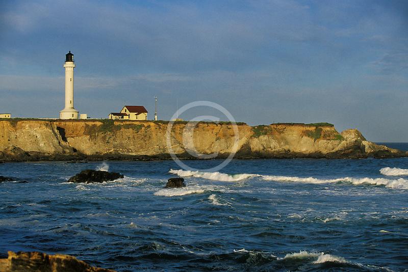 California Point Arena Point Arena Lighthouse David