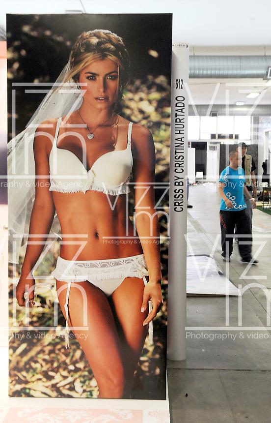 MEDELL&Iacute;N -COLOMBIA-22-JULIO-2013.Preparativos para la feria  Colombia Moda .. Preparing for Colombia Fashion Fair<br />  Photo: VizzorImage/ Luis Rios  / Stringer