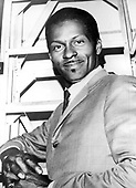"""CHUCK BERRY - Charles Edward Anderson """"Chuck"""" Berry (October 18, 1926 – March 18, 2017)- circa 1960.  Photo: MMMedia Archive/IconicPix"""