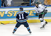 Michel Leveille (University of Maine - Levis, PQ), Tim Crowder (Michigan State - Victoria, BC) - The Michigan State Spartans defeated the University of Maine Black Bears 4-2 in their 2007 Frozen Four semi-final on Thursday, April 5, 2007, at the Scottrade Center in St. Louis, Missouri.