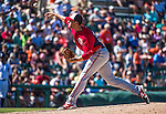 14 March 2014: Washington Nationals pitcher Blake Treinen on the mound during a Spring Training game against the Detroit Tigers at Joker Marchant Stadium in Lakeland, Florida. The Tigers defeated the Nationals 12-6 in Grapefruit League play. Mandatory Credit: Ed Wolfstein Photo *** RAW (NEF) Image File Available ***