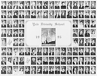 1995 Yale Divinity School Senior Portrait Class Group Photograph
