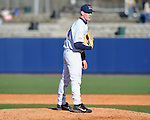 Former Rebel Stephen Head pitches at Ole Miss baseball alumni game at Oxford-University Stadium in Oxford, Miss. on Saturday, February 5, 2011.