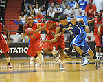 Mississippi's Zach Graham (32) vs. Memphis' Roburt Sallie in NIT second round basketball action at the C.M. &quot;Tad&quot; Smith Coliseum in Oxford, Miss. on Friday, March 19, 2010. Ole Miss won 90-81.
