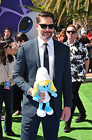 Actor Joe Manganiello at the world premiere for &quot;Smurfs: The Lost Village&quot; at the Arclight Theatre, Culver City, USA 01 April  2017<br /> Picture: Paul Smith/Featureflash/SilverHub 0208 004 5359 sales@silverhubmedia.com