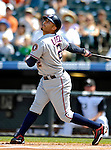 26 August 2007:  Washington Nationals shortstop Felipe Lopez in action against the Colorado Rockies at Coors Field in Denver, Colorado. The Rockies defeated the Nationals 10-5 to sweep the 3-game series...Mandatory Photo Credit: Ed Wolfstein Photo