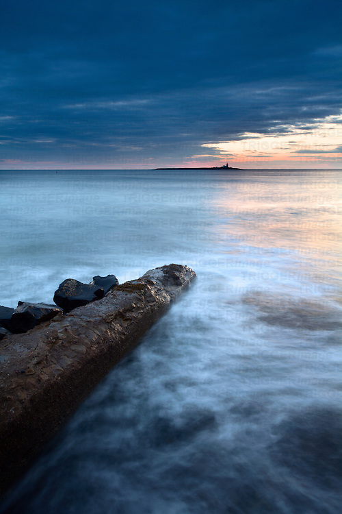 Coquet Island at Dawn Amble by the Sea Northumberland Coast England