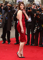 "Gemma Arterton at the film premiere of ""Three and Out"" at the Odeon Leicester Square cinema.."