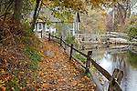 The Stony Brook Grist Mill in Brewster, Cape Cod, MA, USA