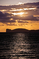 Sunset over Capo Caccia, Sardinia