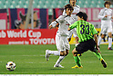 Takashi Inui (Cerezo), Park Won-Jae (Jeonbuk), APRIL 20th, 2011 - Football : AFC Champions League Group G match between Jeonbuk Hyundai Motors 1-0 Cerezo Osaka at Jeonju World Cup Stadium in Jeonju, South Korea. (Photo by Takamoto Tokuhara/AFLO).