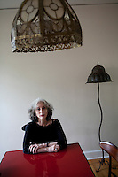 Author Deborah Eisenberg poses for a portrait in her home on September 16, 2009 in Charlottesville, VA.