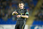 St Johnstone v Hamilton Accies...10.05.11.Referee Steve Conroy.Picture by Graeme Hart..Copyright Perthshire Picture Agency.Tel: 01738 623350  Mobile: 07990 594431