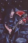 Mick MArs of Motley Crue Jan 1984 at New Haven Coliseum