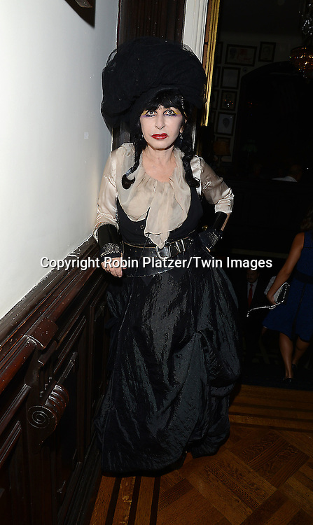Colette attends the National Arts Club Presents &quot; Charles James:Beneath the Dress&quot;  cockatail party on September 29, 2014 in New York City. The exhibit featured drawings from the collection of R. Couri Hay. <br /> <br /> photo by Robin Platzer/Twin Images<br />  <br /> phone number 212-935-0770