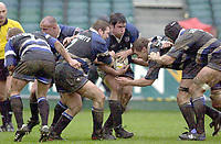 31/01/2004 Parker Pen Challenge Trophy.Bath Rugby v Beziers.Bath's forwards ...   [Mandatory Credit, Peter Spurier/ Intersport Images].