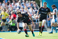 Marcelo Bosch of Saracens scores a second half try. European Rugby Champions Cup Quarter Final, between Saracens and Glasgow Warriors on April 2, 2017 at Allianz Park in London, England. Photo by: Patrick Khachfe / JMP