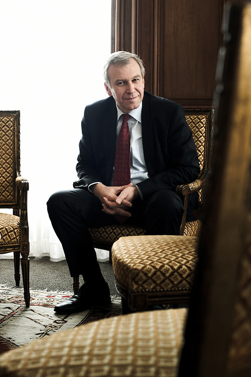 PARIS, FRANCE. DECEMBER 9, 2011. Belgium's former Prime Minister Yves Leterme, now the Deputy Secretary-General of the OECD, in his office. Photo: Antoine Doyen
