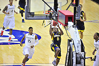 Junior Cadougan of the Golden Eagles gets an open layup. Marquette defeated Miami 71-61 during the NCAA East Regional Round at the Verizon Center in Washington, D.C. on Friday, March 28, 2013.  Alan P. Santos/DC Sports Box