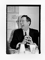 MILFORD New Hampshire, February, 14, 1996: Steve Forbes spent part of his Valentines Day at the Rotary Club in Milford where he delivered his stump speech and took questions from the audience.