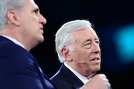 Washington, DC - March 21, 2016: House Democratic Whip Steny Hoyer (c) participates in a panel discussion with House Majority Leader Kevin McCarthy during the AIPAC Policy Conference at the Verizon Center in the District of Columbia, March 21, 2016. AIPAC is engaged in promoting and protecting the U.S.-Israel relationship to enhance security for both countries. (Photo by Don Baxter/Media Images International)