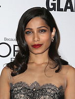 LOS ANGELES, CA - NOVEMBER 14: Freida Pinto at  Glamour's Women Of The Year 2016 at NeueHouse Hollywood on November 14, 2016 in Los Angeles, California. Credit: Faye Sadou/MediaPunch