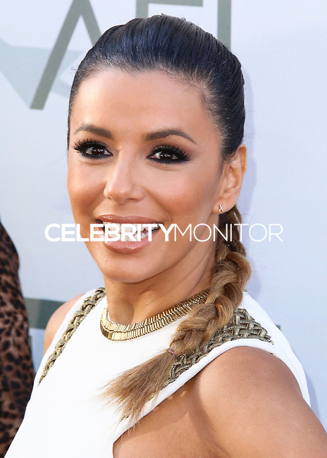 HOLLYWOOD, LOS ANGELES, CA, USA - JUNE 05: Eva Longoria at the 42nd AFI Life Achievement Award Honoring Jane Fonda held at the Dolby Theatre on June 5, 2014 in Hollywood, Los Angeles, California, United States. (Photo by Xavier Collin/Celebrity Monitor)