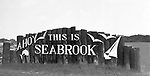 "Texas historic black and white images from Seabrook,Texas USA from Ruth Burke's collection recently published in the book titled ""Images of America, Seabrook"" by Arcadia Publishing."
